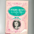 Candy Hits Cookbook by ZaSu Pitts Vintage Hard Cover