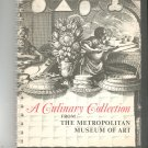 Vintage A Culinary Collection Cookbook Metropolitan Museum Of Art 0870990810