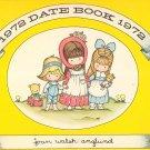 Joan Walsh Anglund Vintage 1972 Date Book Calendar