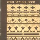 Your Symbol Book Camp Fire Girls D 75 Vintage 1966 By Wallace & Kirby