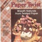 Plaids Paper Twist Collection Wreaths by Jeannie Ward