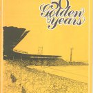 50 Golden Years 1979 Official Anniversary Program Rochester Red Wings Baseball Souvenir