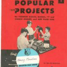 Popular Short Projects Book 1 By John McFarlane Vintage 1949 Craft Service