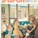 Vintage Dennison Paper Arts & Crafts For Teachers & Group Leaders 1966