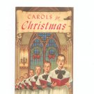 Carols For Christmas Advertising / Promotion Rochester Savings Bank New York