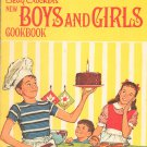 Betty Crocker's New Boys And Girls Cookbook Vintage Hard Cover