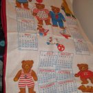 Gordon Fraser Gallery Wall Calendar 1987 Teddy Bears Linen?