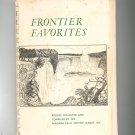 Frontier Favorites Cookbook Regional Niagara Falls New York Service League Vintage