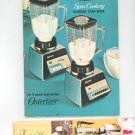 Osterizer Spin Cookery Blender Cookbook With Extra Vintage 1968