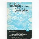 Food Freezing The Way To Real Carefree Cooking Cookbook & Guide Vintage Frigidaire 1958