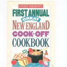 Yankee Magazines First Annual Great New England Cook Off Cookbook 0899091814