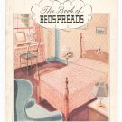 The Book Of Bedspreads by Spool Cotton Company Book 32  Vintage