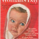 Womans Day January 1961 Vintage With Collectors Cookbook Insert