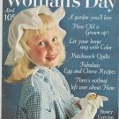 Womans Day April 1961 Vintage With Collectors Cookbook Insert