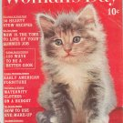 Womans Day March 1961 Vintage With Collectors Cookbook Insert
