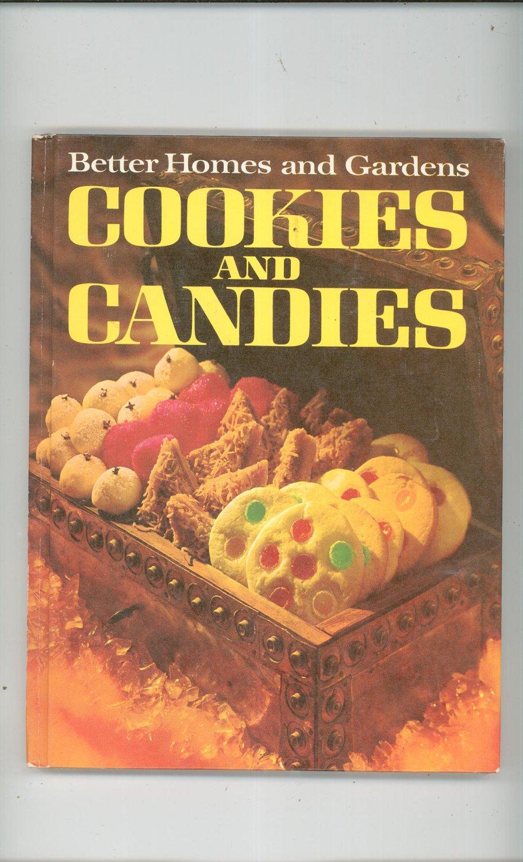 Better Homes Gardens Cookies And Candies Cookbook 696003708 Vintage Item