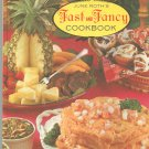 June Roth's Fast And Fancy Cookbook Vintage Glamorous Gourmet Dishes
