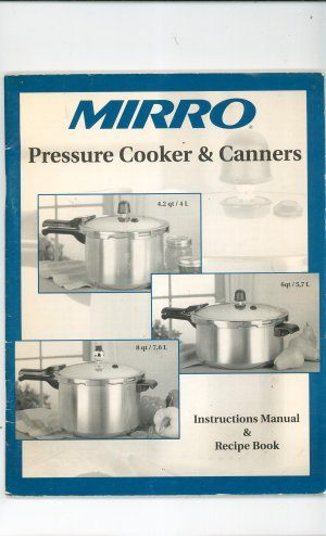 Morganware Pressure Cooker Manuals