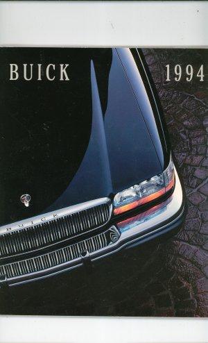Buick 1994 Catalog / Brochure Many Models