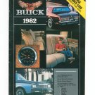 Buick 1982 Owners Catalog / Brochure