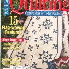 McCall's Quilting Magazine Back Issue August 2002 With Pattern Insert