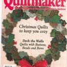 Quiltemaker Magazine November December 1997 Number 58 Christmas