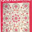 Quilter's Newsletter Magazine November December 1983 Issue 157