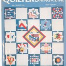 Quilter's Newsletter Magazine July August 1984 Issue 164
