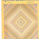 Quilter's Newsletter Magazine May 1984 Issue 162