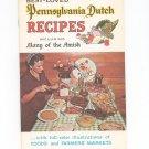 Best Loved Pennsylvania Dutch Recipes Cookbook Many Amish Souvenir