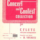Concert And Contest Collection For C Flute H Voxman Rubank 145