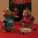 Hallmark Keepsake Mom and Dad 1992 With Box