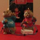 Hallmark Keepsake Mom and Dad 1992 With Box