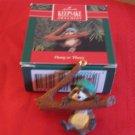 Hallmark Keepsake Hang In There Raccoon 1990 With Box