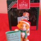 Hallmark Keepsake Friendly Greeting 1992 With Box