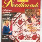McCall's Needlework Magazine December 1993 With Pattern Insert