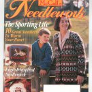 McCall's Needlework Magazine October 1994 With Pattern Insert