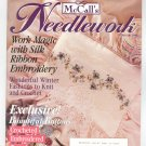 McCall's Needlework Magazine February 1995 With Pattern Insert