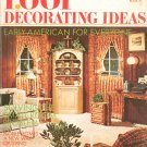 1001 Decorating Ideas Book 37 Vintage Conso Early American For Everyone 1971