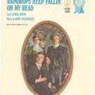 Raindrops Keep Fallin On My Head by David & Bacharach Sheet Music Vintage All Organ