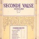 Seconde Valse Godard Op. 56 Number 695 Sheet Music Vintage Century Certified