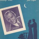 It's Been A Long Long Time by Cahn & Styne Sheet Music Vintage Shorty Sherock