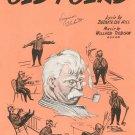 Old Folks by Hill & Robison Sheet Music Vintage