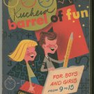 Barrel Of Fun Activity Book Vintage Caroline Horowitz & Harold Hart