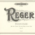 Reger Phantasie Op. 27 Edition Peters 4440