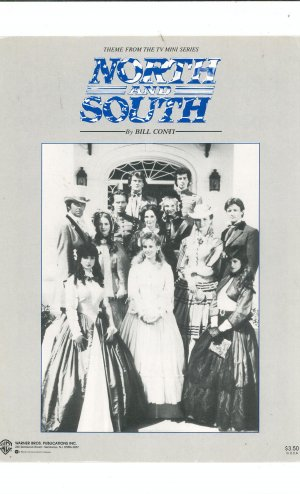 North And South Sheet Music by Bill Conti Theme From TV Mini Series
