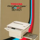 Toshiba Chromatouch BD 4121 Copy Machine Copier Advertising Brochure