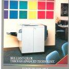 Konica Color 7 Copy Machine Copier Advertising Brochure