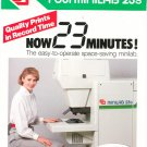 Fuji Minilab 23S Advertising Brochure Photo Processing