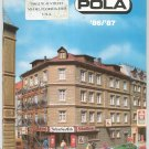 Pola N HO Model Train Catalog 1986 1987 With Model Buildings